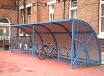 Armadilo cycle shelter
