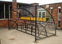 cycle shelter for schools